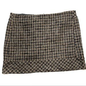 Kenar sz 12 tweed mini skirt